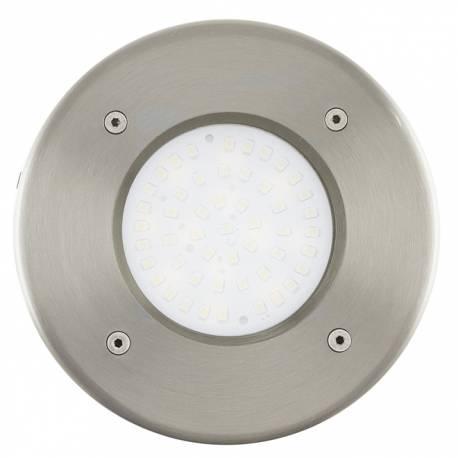 Външна лампа за вграждане 1x2,5W стомана кръгла Ф102 LAMEDO