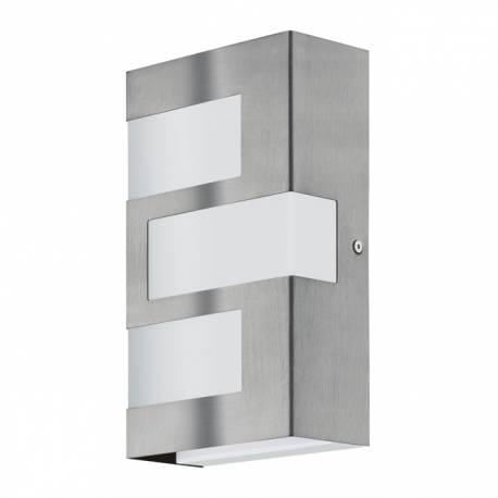 Външен аплик-LED 3х2,5W 540lm ст.инокс/бяло  RALORA