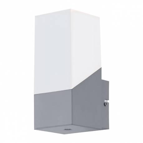 Външен аплик-LED 1x3,7W 320lm сребро/бяло  ROFFIA
