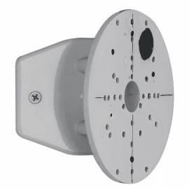 Стойка ъглова за външни лампи сребро