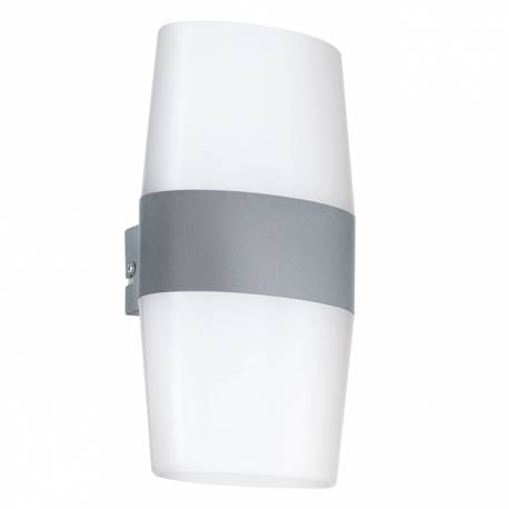 Външен аплик-LED 4x2,5W 720lm бяло/сребро  RAVARINO