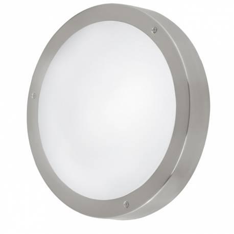 Външен аплик-LED 3х2,5W 540lm ст.инокс/бяло VENTO 1
