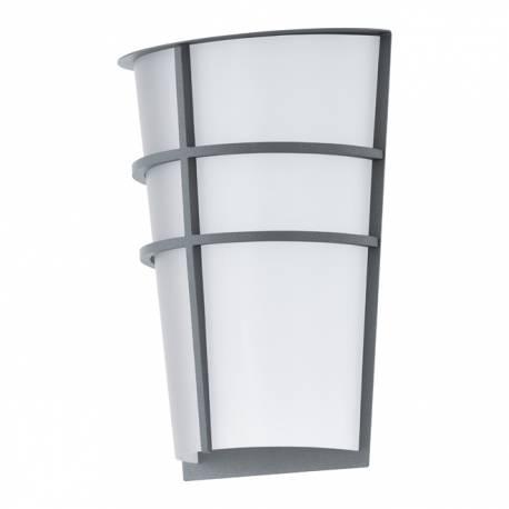 Външен аплик-LED 2x2,5W 360lm сребро/бяло  BREGANZO