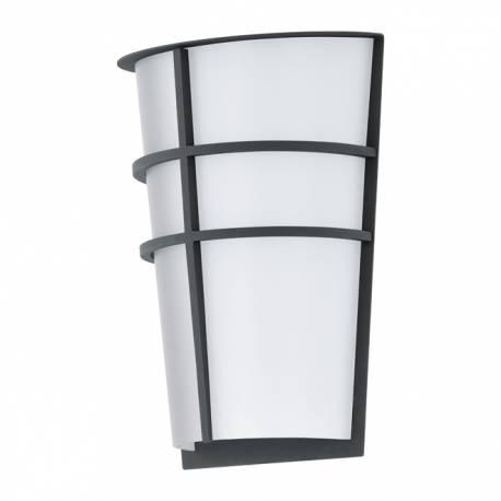 Външен аплик-LED 2x2,5W 360lm антрацит/бяло BREGANZO
