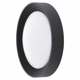 Външен аплик/ПЛ-LED 8,2W 820lm Ф325 черно  ONTANEDA