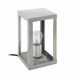 Външна лампа-настолна 1хE27 инокс/прозрачно  ALAMONTE