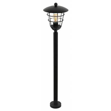 Външна лампа-стояща 1хЕ27 черно  PULFERO