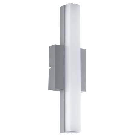 Външен аплик/ПЛ-LED 8W 770lm сребро/бяло  ACATE