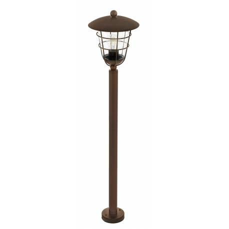 Външна лампа-стояща 1хЕ27 кафяво PULFERO 1