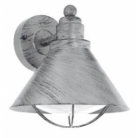 Външен аплик 1хE27 сребро-антик  BARROSELA