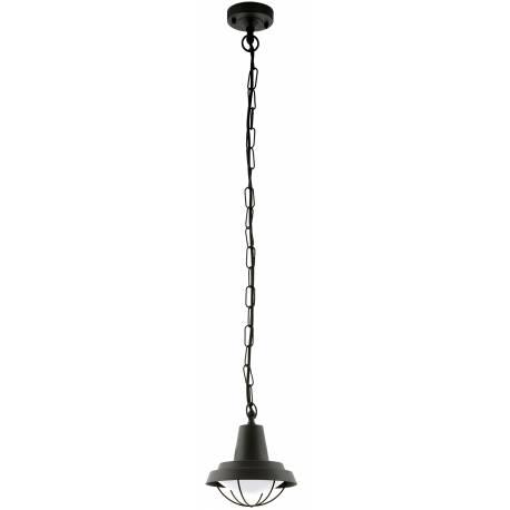 Външна лампа-пендел, висяща 1хE27 черно  COLINDRES 1
