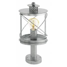 Външна лампа-настолна 1хE27 сребро-антик HILBURN 1