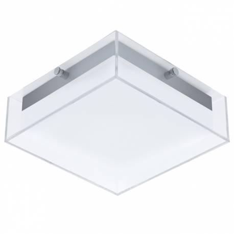 Външен аплик/ПЛ-LED 8,2W 820lm сребро/прозрачно/бяло  INFESTO