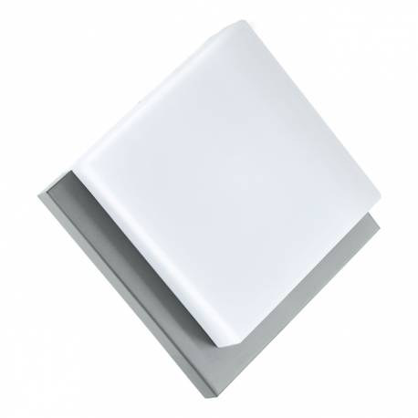 Външен аплик/ПЛ-LED 8,2W 820lm инокс/бяло INFESTO 1