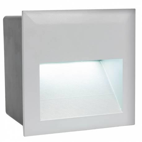 Външна лампа-ВГР.стълби 3,7W 400lm сребро ZIMBA-LED