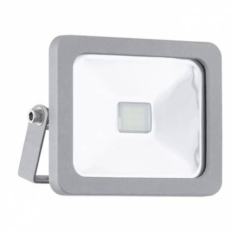 Външна лампа-LED-прожектор 10W 900lm сребро FAEDO 1