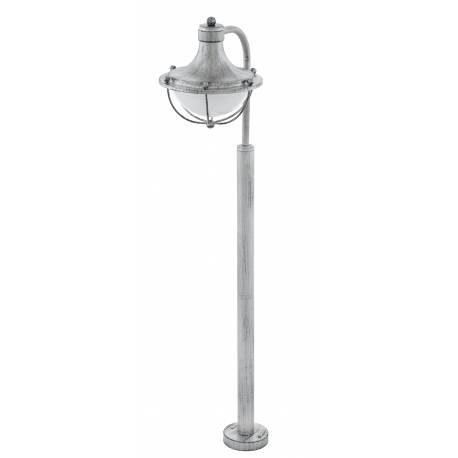 Алуминиева стояща лампа  1хE27 сиво-антично/WS  MONASTERIO
