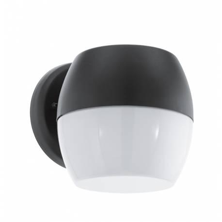 Външен аплик LED 11W 960lm черно/бяло ONCALA