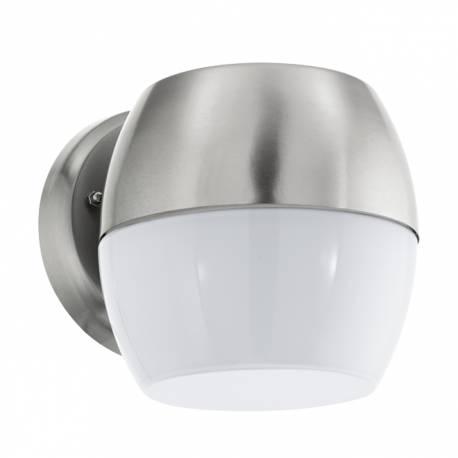 Външен аплик LED 11W 960lm инокс/бяло ONCALA