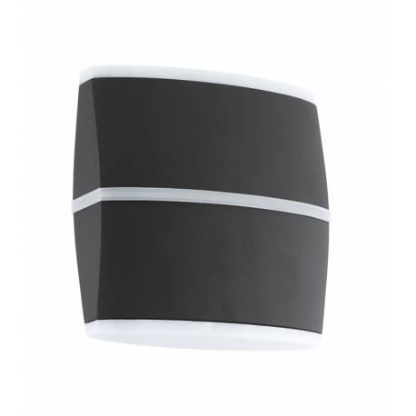 Външен аплик LED 2x6W 2x500lm антрацит/бяло  PERAFITA
