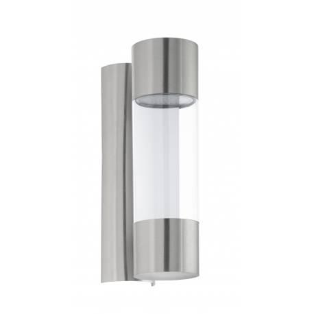 Външен аплик LED 2х3,7W 2х320lm инокс/прозр.ц  ROBLEDO