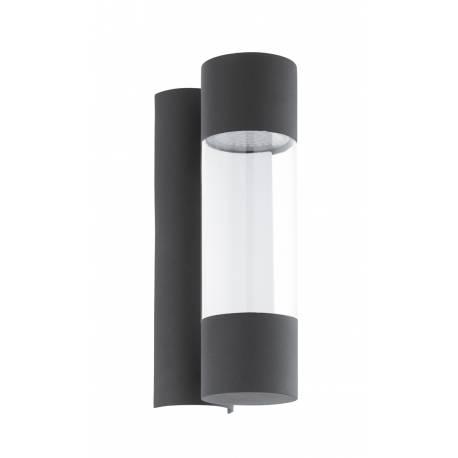 Външен аплик LED 2х3,7W 2х320lm антрацит/прозр.ц  ROBLEDO