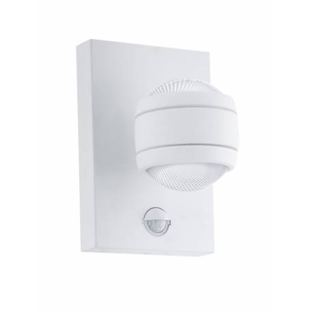 Външна лампа LED аплик 2х3,7W 2х280lm сензор бяло SESIMBA 1