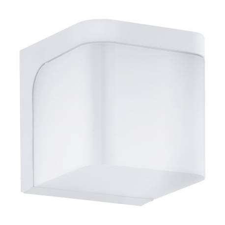Външен аплик LED 1x6W 500lm куб бяло JORBA