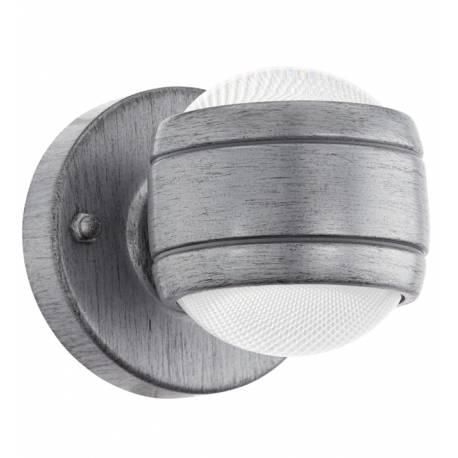 Външна лампа LED аплик 2х3,7W 2x280lm галв. сиво-антично  SESIMBA