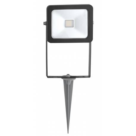 Външна лампа LED 10W 900lm прожектор колче черно  FAEDO 2