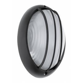 Външен аплик LED 6W 500lm овал черно/мат. SIONES 1