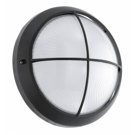 Външен аплик LED 11W 850lm Ø260 черно/SAT. SIONES 1