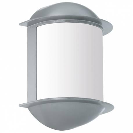 Външен аплик LED 6W 500lm сиво/бяло  ISOBA