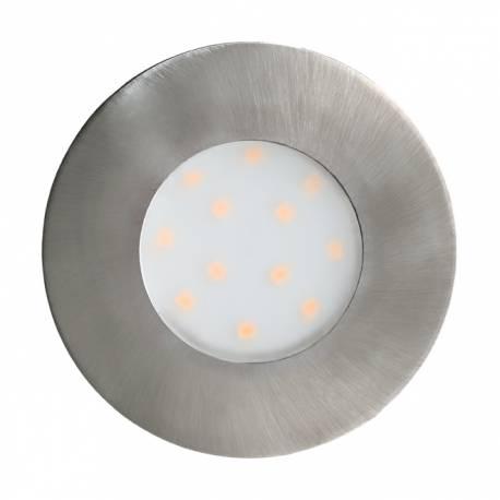 Външна лампа-СПОТ вгр.LED 6W 500lm Ø78 никел мат. PINEDA-IP