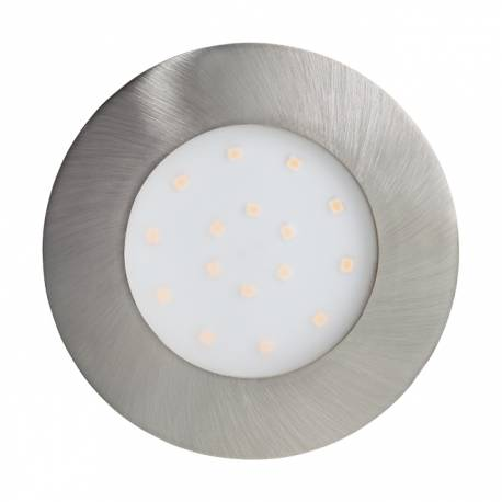 Външна лампа СПОТ вгр.LED 12W 1000lm Ø102 никел мат. PINEDA-IP