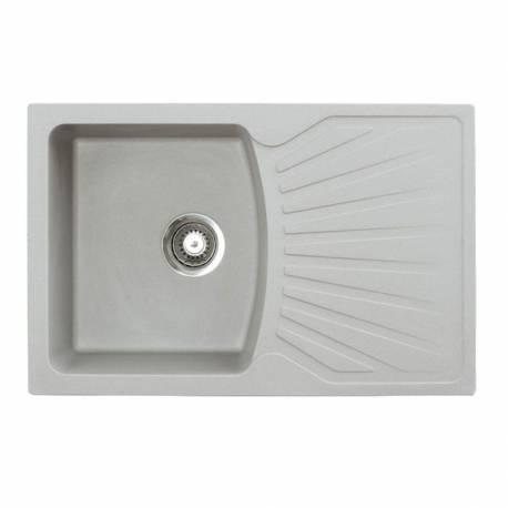 Кухненска мивка xQUADRO PLUS, сива
