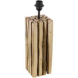 Винтидж настолна лампа - дърво 1хE27 H-325 мм