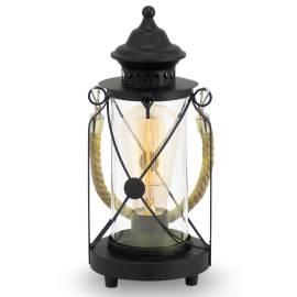 Настолна лампа - фенер E27, винтидж