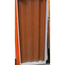Сгъваема врата тип хармоника 88 x 203 см - череша