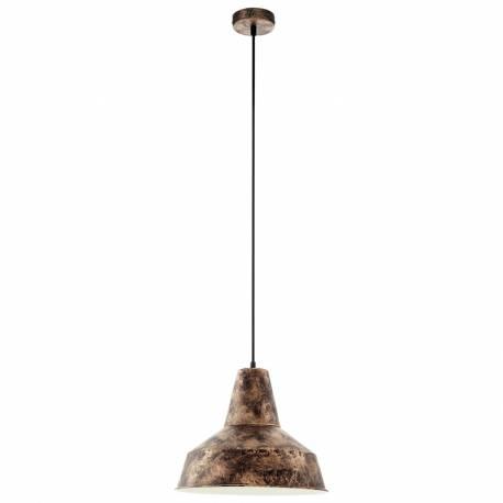 Пендел-висяща лампа 1хE27 мед-антик SOMERTON