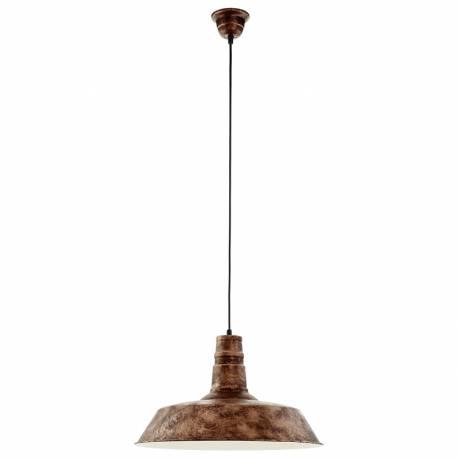 Пендел-висяща лампа 1хE27 Ø470 мед-антик SOMERTON 1