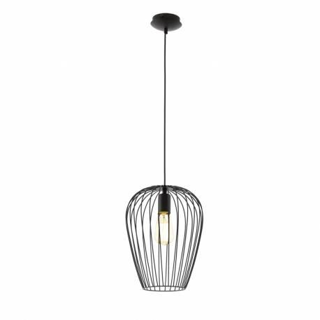 Пендел-висяща лампа 1хE27 черно NEWTOWN