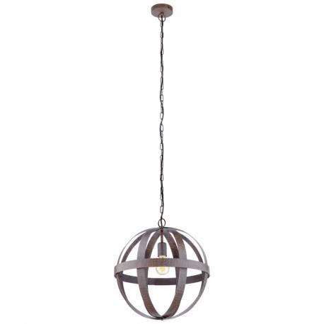Пендел-висяща лампа 1хE27 Ø450 ленти дъга ръждив WESTBURY