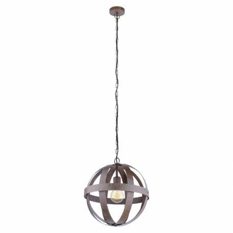 Пендел-висяща лампа 1хE27 Ø370 ленти дъга ръждив WESTBURY