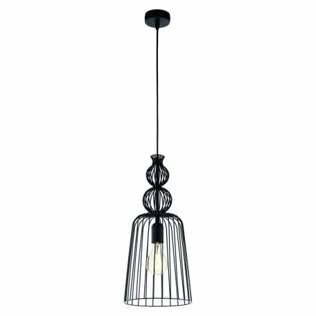 Пендел-висяща лампа 1хE27 Ø290 Х1100 черно CARTERHAM