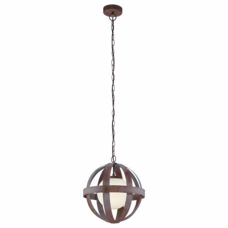 Пендел-висяща лампа 1хE27 златно кафяво WESTBURY 1