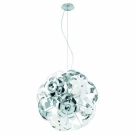 Пендел-висяща лампа 6xE14 Ø515 сфера цв-хром/бяло CAMILE