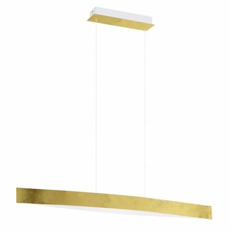 Пендел-висяща лампа LED 4x6W 1800lm златно/бяло вътре FORNES