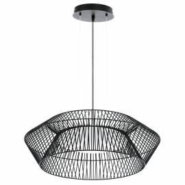 Пендел-висяща лампа LED 18W бяло /ч.бял кабел PIASTRE