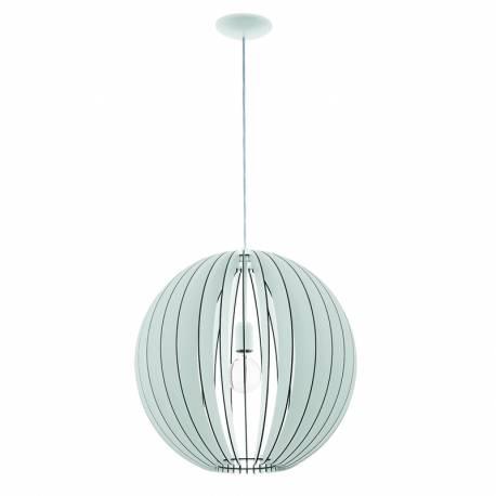 Пендел-висяща лампа 1хE27 Ø500 бяло COSSANO